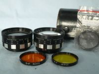 '  Korvette -NICE SET- ' Korvette  Tele + Wide Lenses Cased -NICE-RARE- £14.99